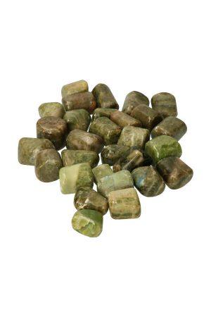 vesuvianiet stenen, vesuvianiet trommelstenen, trommelsteen, gepolijst, knuffelsteen, kopen