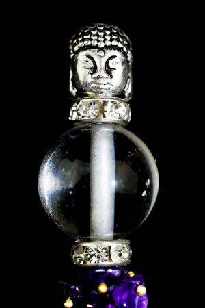 healing wand, healing wand buddha chakra, chkra stick, stenen, edelstenen, boeddhistische healing,