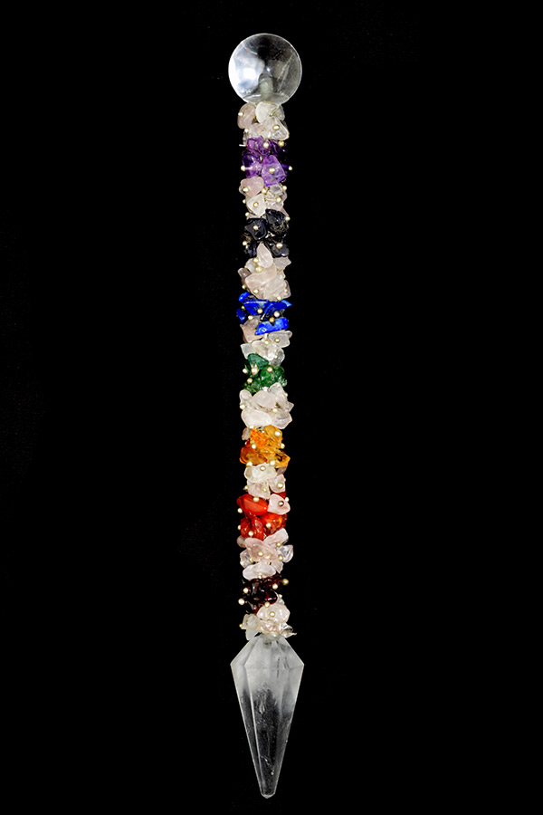 Chakra healing wand, 15 - 19 cm