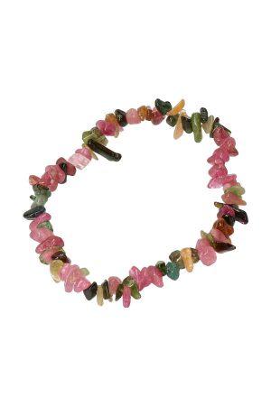 Watermeloen Toermalijn splitarmband, 18 cm , gekleurde toermalijn armband, natuurlijk, kopen, turmaline bracelet, edelsteen, edelstenen