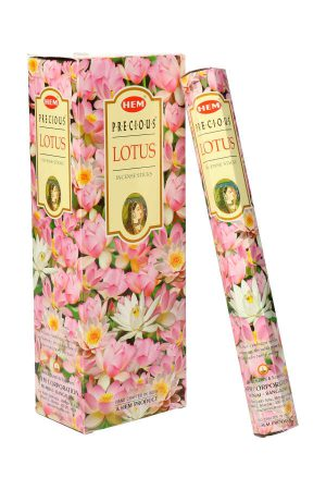 Precious Lotus wierook, HEM, wierook stokken, stokjes, HEM, hexagonaal, incense, kopen