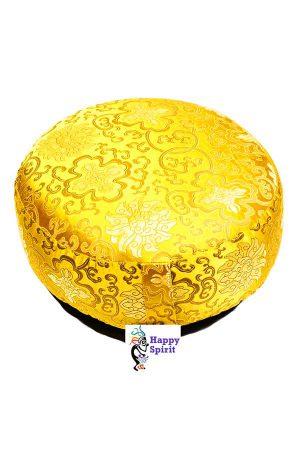 goud lotus meditatiekussen, kopen, spiritueel