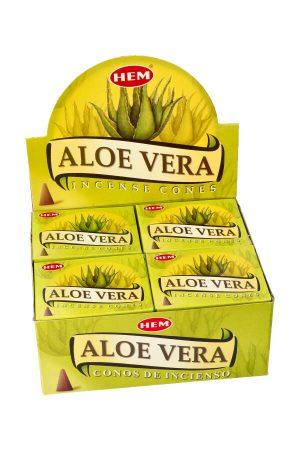 Aloe Vera kegel wierook, Aloe Vera koontjes