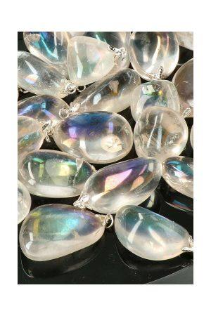 Angel Aura hanger, angel aura gemstone pendant, kopen, edelsteen hanger, edelstenen, kopen