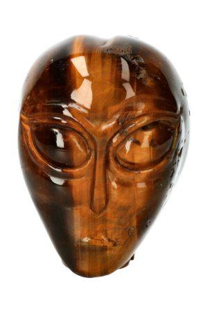 tijgeroog alien kristallen schedel