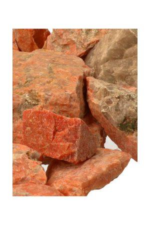 Rosophia ruwe kristallen, ruwe brokken, mineral, azeztuliet, maansteen, specimen, rosophia crystals