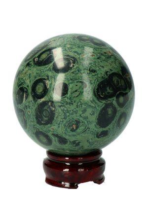 eldariet bol, eldarite, sphere, bal, edelsteen, edelstenen, bol, kambaba jaspis, kambaba jasper, nebula, kopen