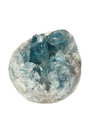 Celestien ruw, top kwaliteit, 256 gram, 8 cm, Madagaskar, coelestien, celestiet, mineralen, edelstenen, edelsteen, mineraal, engelen steen, celestine, rough, raw, kopen