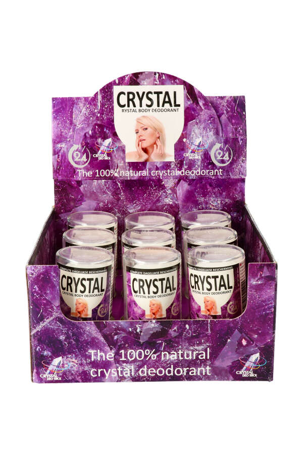 Crystal Deo Stick is een zoutsteen deodorant