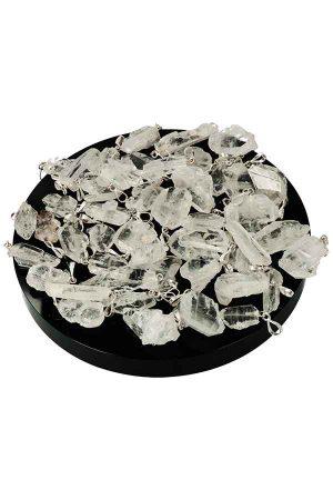 Fadenkwarts hanger, faden quartz pendant, kopen, edelsteen, edelstenen, bergkristal, pakistan