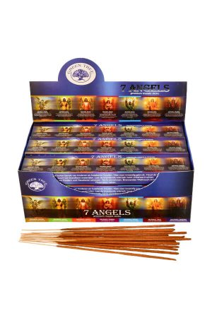 Green Tree 7 Angels wierook, 15 gram, green tree incense, kopen, wierook, stokjes