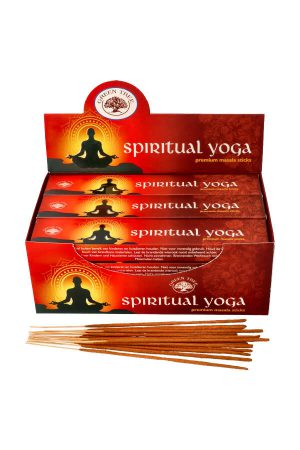 Green Tree Spiritual Yoga wierook, 15 gram, green tree incense, kopen, wierook, stokjes