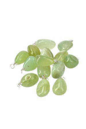 Jade steen hanger, circa 2.5 cm, jade pendant, kopen, edelsteen, edelstenen, jade ketting