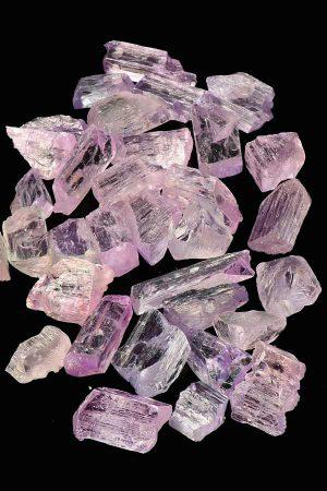 Kunziet ruwe stukjes, Afghanistan, kunzite rough, mineral, mineralen, sphene, kopen, beste kwaliteit kunziet