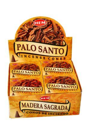 Palo Santo kegel wierook, HEM, palo santo cone incense, kopen