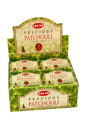 Patchouli kegel wierook, HEM
