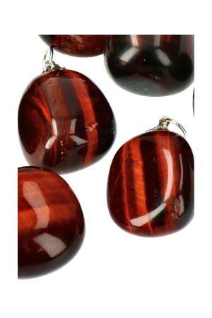Rode Tijgeroog hanger, red tiger eye pendant, kopen, rode tijgeroog ketting, edelsteen, edelstenen
