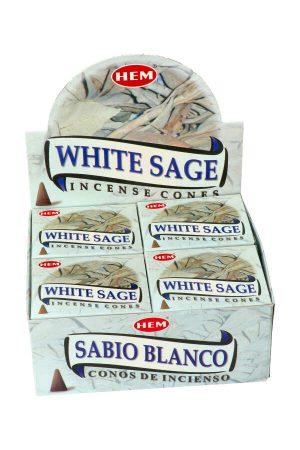 salie wierook kegel, kegels wierook, sage, white sage, witte salie kegel, kopen, cones, coon