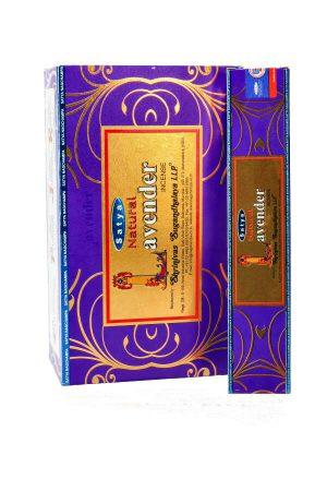 Satya Lavendel wierook, natuurlijke handgerolde wierook, lavender satya incense, kopen