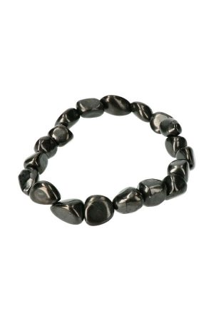 Shungiet stenen armband, Shungiet armband, 19 cm, shungite bracelet, shungit, powerbead, kopen,