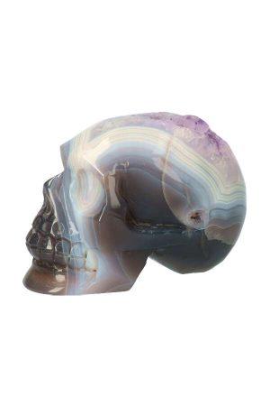 Amethist geode kristallen schedel koppel, amethist kristallen schedel, citrien kristallen schedel, crystal skull, citrine, amethyst, kopen
