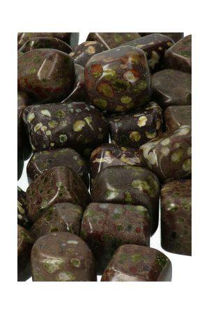 Epidoot steen, trommelsteen, zuid-afrika, epidote tumble, epidoot knuffelsteen, knuffelstenen, trommelstenen, kopen, getrommeld