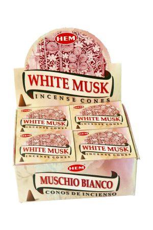 White Musk wierook, White Musk koontjes