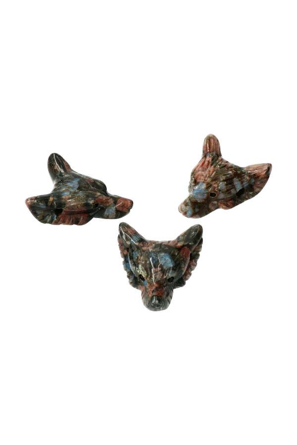 Que Sera wolf hanger, 4 cm