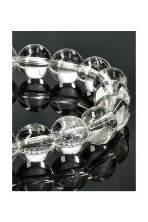 Bergkristal armband 8 mm edelsteen kralen 19 cm