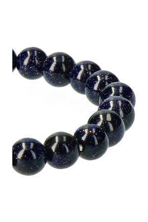 Blauwsteen armband 8 mm edelsteen kralen