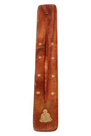 Wierook plankje boeddha, 25 cm Ideaal plankje om wierook te branden.