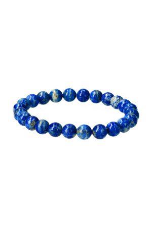 Lapis Lazuli armband 8 mm edelsteen kralen uit Afghanistan