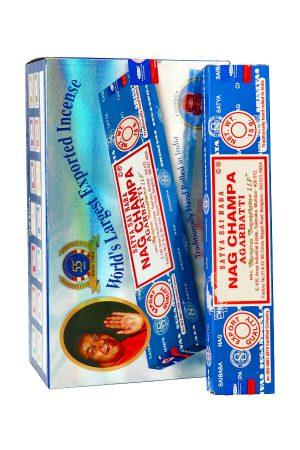 Satya Sai Baba Nagchampa Natural wierook 15 gram