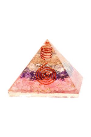 Gouden driehoek orgoniet piramide