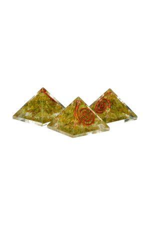 orgoniet Peridoot piramide