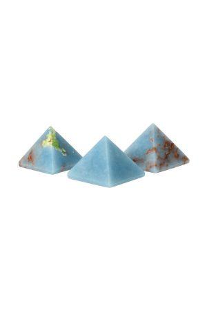 Angeliet edelsteen piramide