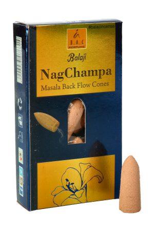 Balaji Masala Back Flow Cones Nag Champa