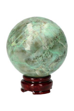 Groene Maansteen Garniriet edelsteen bol kopen