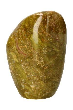 Groene Opaal sculptuur vrije vorm geslepen opaal