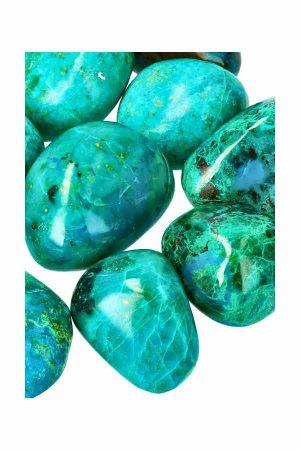 Chrysocolla stenen uit Peru