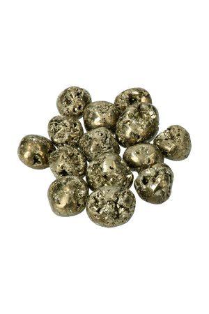 pyriet geode steen uit Peru trommelstenen