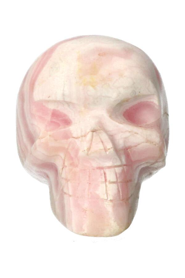 Mangano Calciet kristallen schedel crystal skull