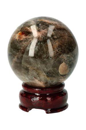Zwarte Maansteen bol Madagaskar