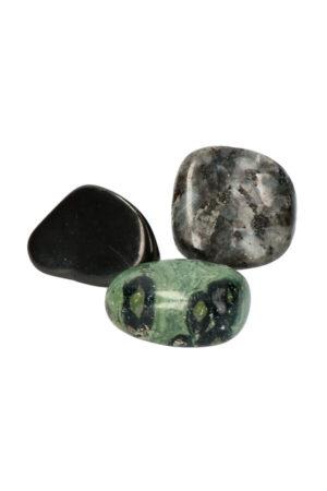 Aarding & Straling edelstenen set kristallen