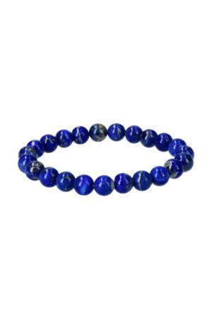Lapis Lazuli armband 8 mm, AAA kwaliteit Afghanistan