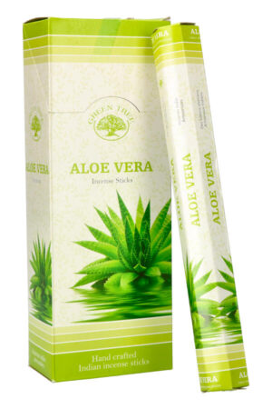Green Tree Aloe Vera wierook stokjes