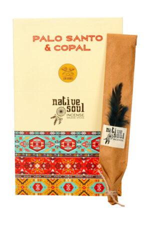 Native Soul wierook Palo Santo & Copal (Palo Santo & Copaal)