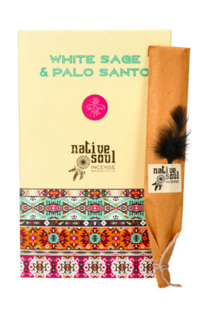 Native Soul wierook White Sage & Palo Santo (Witte Salie & Palo Santo)