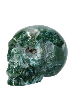 Mosagaat kristallen schedel, 8.5 cm, 339 gram
