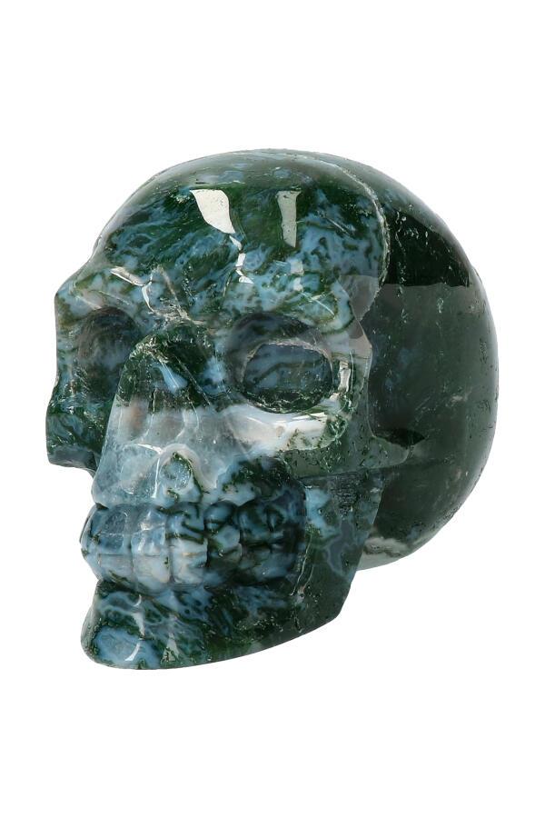 Mosagaat kristallen schedel